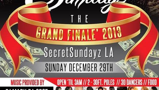 SUNDAY DECEMBER 29, 2013: SECRET SUNDAYz