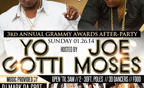 SUNDAY JANUARY 26, 2014: SECRET SUNDAYz GRAMMY AWARDS AFTER PARTY