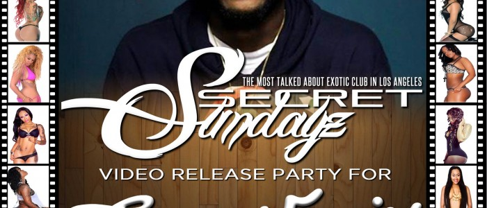 SUNDAY JANUARY 25, 2015: SECRET SUNDAYz LIVE w/ CASEY VEGGIES & JHONNI BLAZE