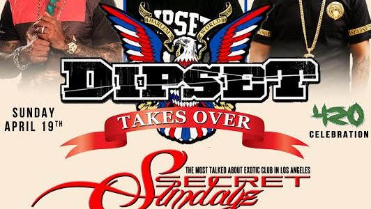 SUNDAY APRIL 19, 2015: SECRET SUNDAYz DIPSET TAKEOVER