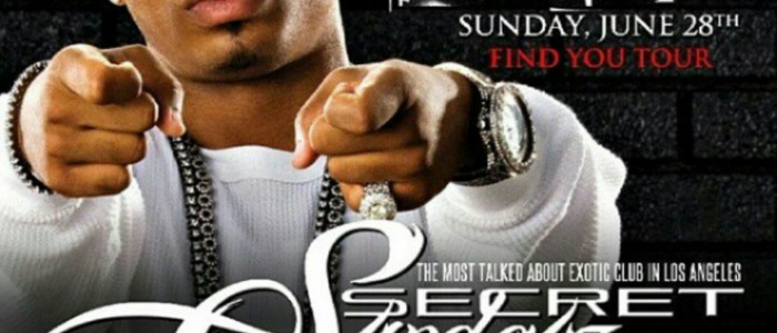 SUNDAY JUNE 28, 2015: SECRET SUNDAYz BET AWARDS AFTERPARTY w/ PLIES