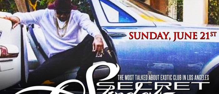 SUNDAY JUNE 21, 2015: SECRET SUNDAYz JOE MOSES CONCERT AFTER-PARTY