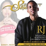 Sunday Sept. 27, 2015 SecretSundayz BIRTHDAY for MR.LA RJ