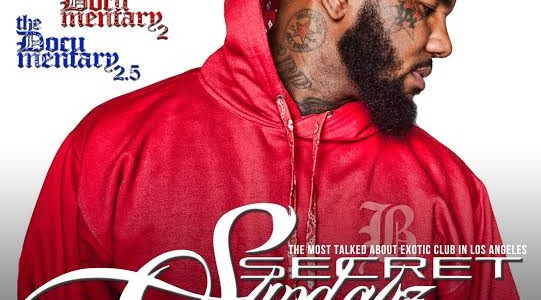 SUNDAY OCT. 25, 2015 SecretSundayz Live THE GAME ALBUM RELEASE PARTY