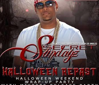 SUNDAY NOV. 1, 2015 SecretSundayz JOE MOSES ALBUM RELEASE PARTY