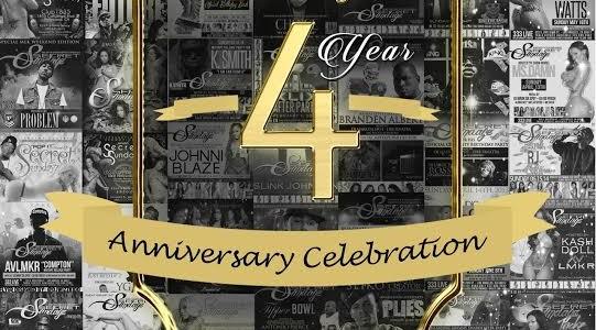 SUNDAY DEC. 20, 2015 SecretSundayz 4 YEAR ANNIVERSARY PARTY