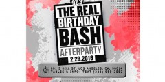 SUNDAY FEBRUARY 28, 2016 REAL 92.3 BIRTHDAY CONCERT AFTERPARTY