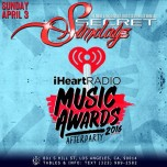 SUNDAY SECRETSUNDAYZ APRIL 3, 2016 iHEART MUSIC AWARDS AFTERPARTY