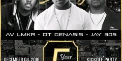 DECEMBER 4, 2016 SecretSundayz 5 Year Anniversary Series Pt1