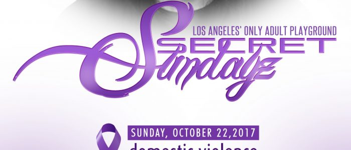 "SUNDAY Oct. 22, 2017 SecretSundayz ""Domestic Violence Awareness Month"""