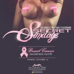 "SUNDAY Oct. 15, 2017 SecretSundayz ""Breast Cancer Awareness Month"""