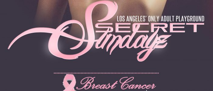 "SUNDAY Oct. 15, 2017 SecretSundayz ""Breast Cancer Awareness Month"""