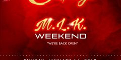 "SUNDAY JAN 14, 2017 SecretSundayz MLK WEEKEND ""NO SCHOOL or WORK ON MONDAY"""